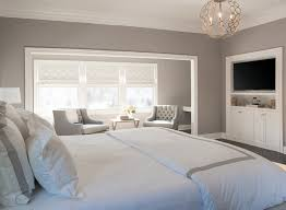 Master Bedroom Paint Colors Benjamin Moore For Modern Concept Bedroom  Sitting Nook Features Gorgeous Gray Walls And Gray Tufted