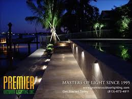 in step lighting photo gallery from premier outdoor lighting