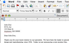 How To Write A Letter In Microsoft Word Ideal Vistalist Co
