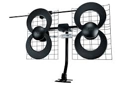 clearstream 4v indoor outdoor hdtv antenna with mount 70 mile range