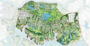 Ecological City Design Caidian Eco City