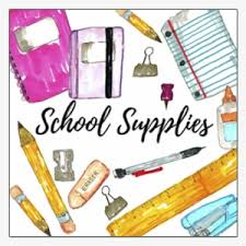 Schoolsupplies - School Supplies Clip Art PNG Image | Transparent PNG Free  Download on SeekPNG