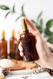 diy holiday room sprays with essential
