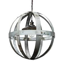 lighting globe chandelier wine barrel furniture