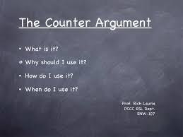 argument essay writing   counter argument essay examples  argument    counter argument essay examples