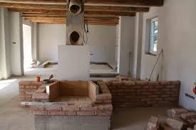 Building A Fireplace How To Build An Outdoor Stacked Stone Fireplace Hgtv