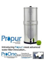 berkey water filter fluoride. Royal Berkey With 2 X ProOne™G2.0 Water \u0026 Fluoride Filters \u2013 9 Filter