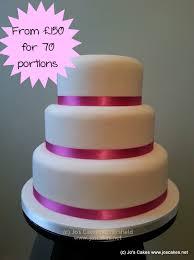 Jos Cakes Simple 3 Tier Wedding Cake