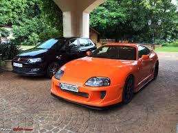 My Toyota Supra (2JZ) - Candy Orange - Team-BHP