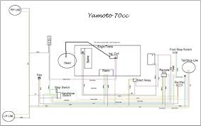 50cc chinese quad wiring diagram. Yamoto 70cc Wiring Diagram Posted Below Atvconnection Com Atv Enthusiast Community