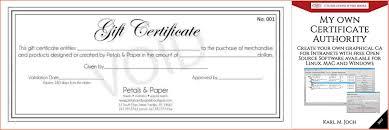 Make My Own Certificates Koran Opencertificates Co