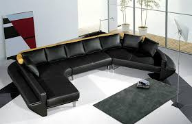 modern leather sectional couch. Brilliant Modern Tosh Furniture Ultra Modern Black Leather Sectional Sofa Set Note  On Couch