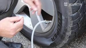 Car Tire Balancing Beads Chart Wurth Usa Wheel Balancing Beads And Installation Tool