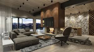Modern Homes With Amazing Fireplaces And Creative Lighting - Amazing house interiors