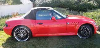 bmw z3 19 2 1996. 1996 BMW Z3 Roadster Convertible, Red \u0026 Black, Very Low Miles, Collectors Car Bmw 19 2