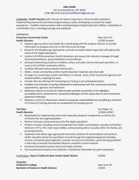 Resume Nursing Clinical Instructor Cover Letter Best Inspiration