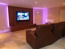 games room lighting. Basement TV And Games Room Installation \u2013 Seal, Kent Lighting X