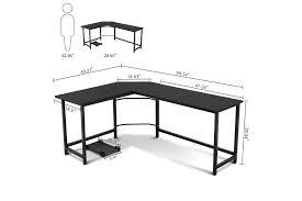 l shaped corner desk. The Tribesigns Modern L-Shaped Desk Corner Computer Review L Shaped D