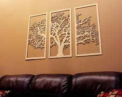 >tree of life 3d maple 3 panel wood wall art beautiful living  0642415474566