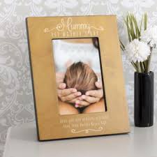 personalised mummy 1st mother s day wooden photo frame image