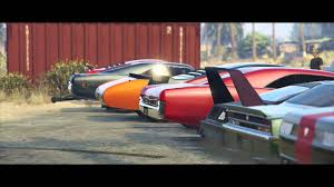 Gta Online Muscle Car Meet First Person Cruising Car