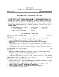 Senior Mechanical Engineer Sample Resume 15 Site ...