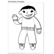 Flat Stanley Template Blank