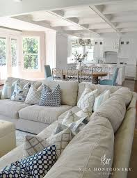 chic cozy living room furniture. coastal style living room sita montgomery click through for more beautiful rooms chic cozy furniture