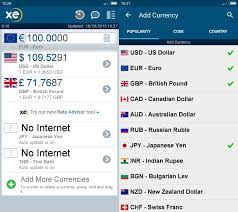 Xe Exchange Rate Chart Convert Currency Without Internet With Xe Currency For