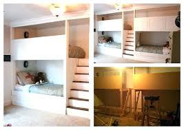 Triple Loft Bunk Bed Plan Kids Beds Inspiration