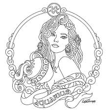 Zodiac symbols in printable format. Zodiac Signs Coloring Pages Coloring Home