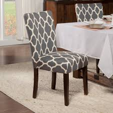chair awesome grey parsons light chairs skirted gray homepop classic dining geo brights warm set parson