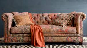 to some styling patterned furniture can seem daunting but we want to show you how dynamic this show stopper of a sofa is scroll down to see how we ve