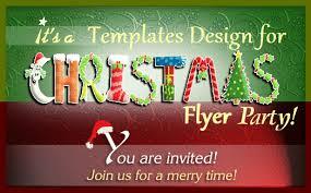 Christmas Flyer Templates Best Premium Free Merry Christmas Flyer Templates Web Net