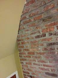 drywall near exposed brick exposed