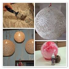 cool Reuse And Recycle Objects Around Your House To Make DIY Hanging Lamps