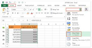 Medication Expiration Date Chart How To Calculate Expiration Dates In Excel