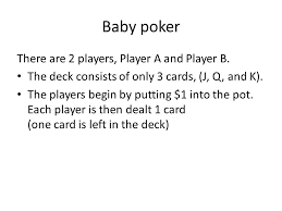 Q And A Game Lecture 13 Poker Two Basic Concepts Poker Is A Game Of Skill Not
