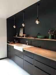 1001 Exemples Sublimes De La Cuisine Noire Et Bois Kitchen