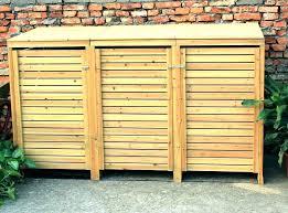 storage bins outdoor storage bins garbage outdoor storage storage bin storage shed trash can plans storage bins