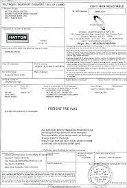 Bill Of Lading Free Form Bills Of Lading Auto Transport Invoice Bill Template Form