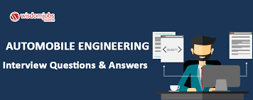 automobile engineering interview