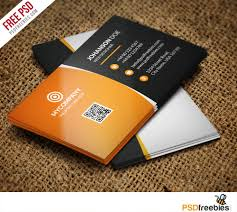 Free Psd Business Card Templates Corporate Business Card Bundle Free Psd Psdfreebies Com