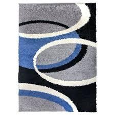 contemporary blue area rugs cozy geometric circles rug orange and designs grey mode