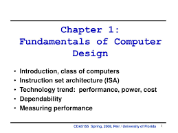 Fundamentals Of Computer Design Ppt Chapter 1 Fundamentals Of Computer Design Powerpoint