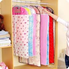 garment storage bags breathable friendly fabric bag dress clothes