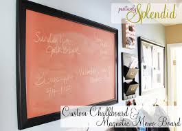 Family Memo Board How To Make A Custom Painted Chalkboard and Easy Magnetic Memo Board 61