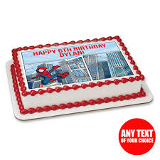 Spiderman Cake Toppers Near Me Edible Image Venom Pan 3d Template
