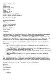 Awesome Collection Of Resume Cover Letter Examples Bookkeeper