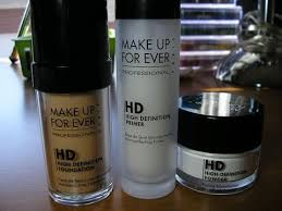 make up for ever high definition s review
